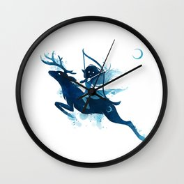 Elf Archer Wall Clock