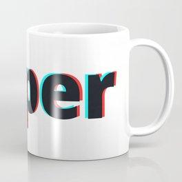 Super / White Coffee Mug