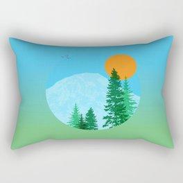 Rainier or Shine Rectangular Pillow