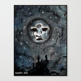 Sad Dream World Canvas Print