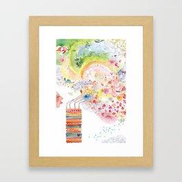I WISH Framed Art Print