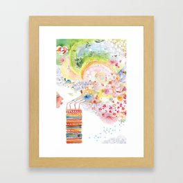 I WISH Framed Art Print