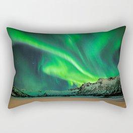 Northern Lights - Aurora Borealis_Winter Rectangular Pillow