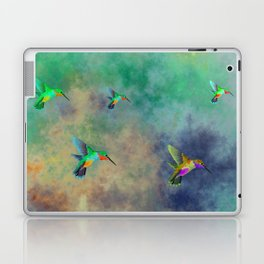 Secret Escape Hummingbird Design Laptop & iPad Skin