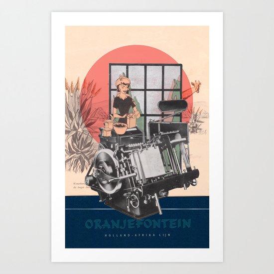 Oranjefontein Art Print