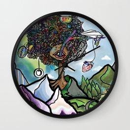 Strange Froot Wall Clock
