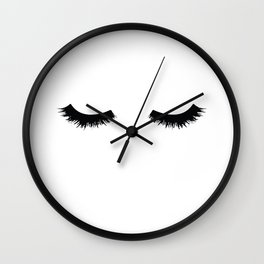 Lash Love Wall Clock