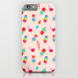Summer Icecreams iPhone Case