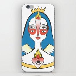 Coração em Chamas iPhone Skin