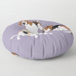 Henry, Gemini and Sawyer Floor Pillow