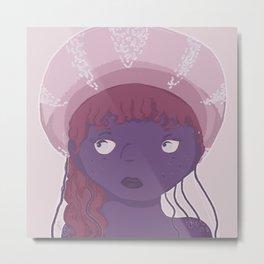 Jellymaid Metal Print