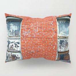 Old Windows Bricks Pillow Sham