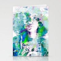 erykah badu Stationery Cards featuring Ode To Badu by Jennifer Torres