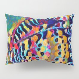Butterfly Pizazz | Oil Painting Pillow Sham
