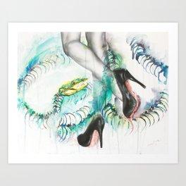 Rainbow and Serpent Art Print