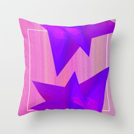 Near Collision Throw Pillow