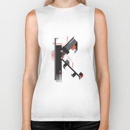 Abstract K Biker Tank