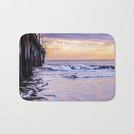 Ever Changing Cayucos Pier and Beach California Bath Mat
