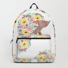 Flowering Hedgehog Backpack