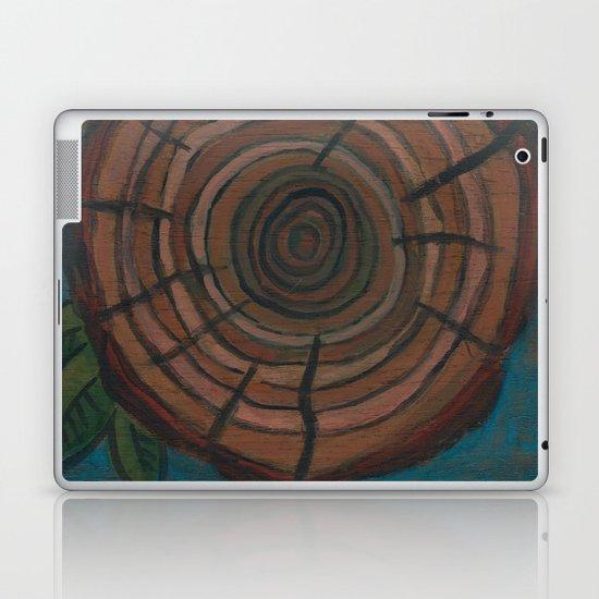 Tree Ring Laptop & iPad Skin