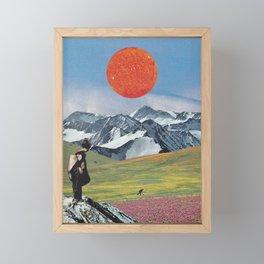Amaterasu Framed Mini Art Print