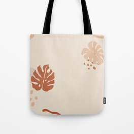 Abstract Plant and Shapes Tote Bag