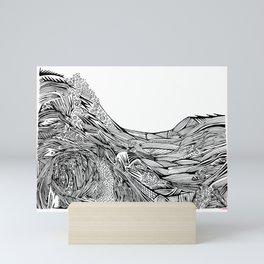 no lighthouse Mini Art Print