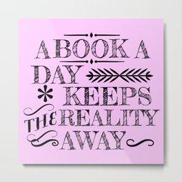 A Book A Day... Metal Print
