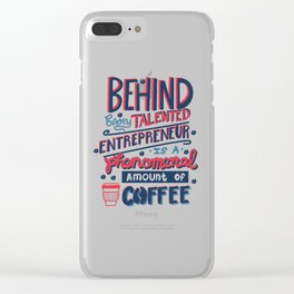 Talented Entrepreneur Clear iPhone Case