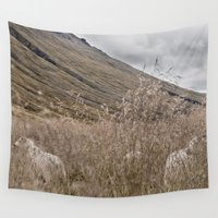 plain Wall Tapestries featuring Hiding in plain sight by Nur Mut