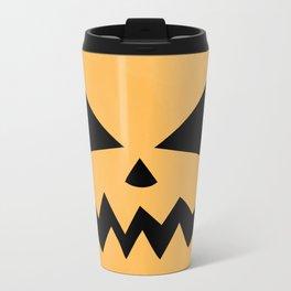 Scary Jack-O-Lantern Travel Mug
