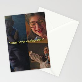 Sings Never Ending Story Stationery Cards