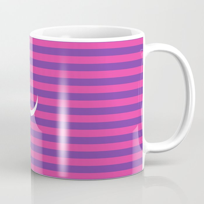 3fce3579e36 Minimalist Cheshire Cat from Alice in Wonderland Coffee Mug by ...