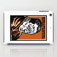 camus iPad Cases featuring ALBERT CAMUS QUOTATION by Lestaret