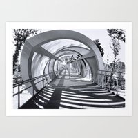 stargate Art Prints featuring Stargate Madrid by Pedro Fernandez