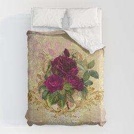 Decadent Velvet Rose Comforters