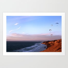 San Diego Twilight Art Print