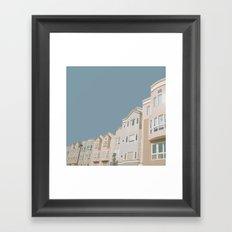 In Bluer Skies Framed Art Print
