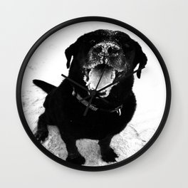 The Best Beach Day Ever Wall Clock