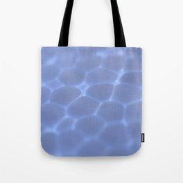 Dark Blue Foam Plastic Texture Surface Tote Bag