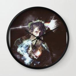 dark side of the moon - old man Wall Clock