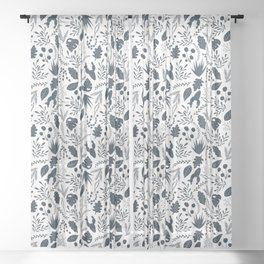 Plant Lover Sheer Curtain