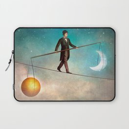 Between Night and Day Laptop Sleeve