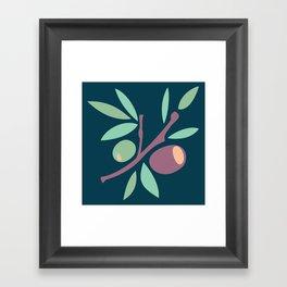 Tapas - Olives Framed Art Print