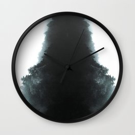 Evergreen | Nature and Landscape Photography Wall Clock