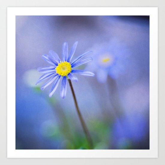 Lifeberry Floral Art Print