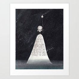 Every Dream Begins With A Dreamer... Art Print