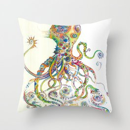 The Impossible Specimen 2 Throw Pillow