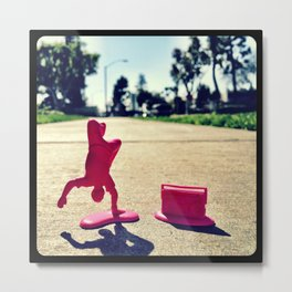 Breakdancing on a sunny day. Metal Print