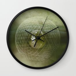 Caged World Wall Clock